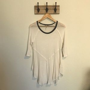 Free People Tops - Free People Snow Combo Top